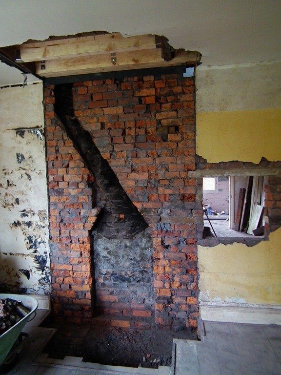 Remove chimney breast