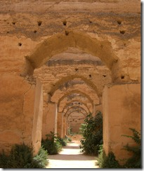 The granaries at meknes