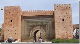 Bab Kh'miss gate in Meknes.