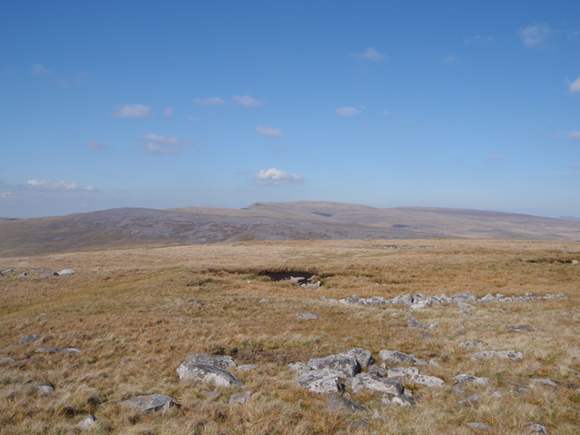 Looking towards the Black Mountain ridge from Foel Fraith
